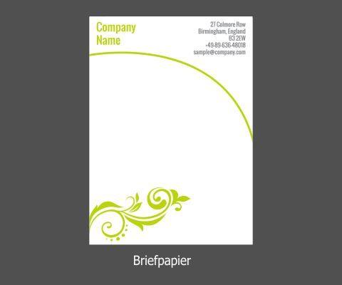 Briefpapier Din A4 90gr Einseitig Farbig